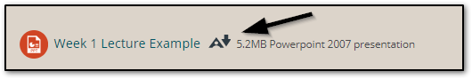 Where alternative formats are available, you can access them by clicking the Ally icon.