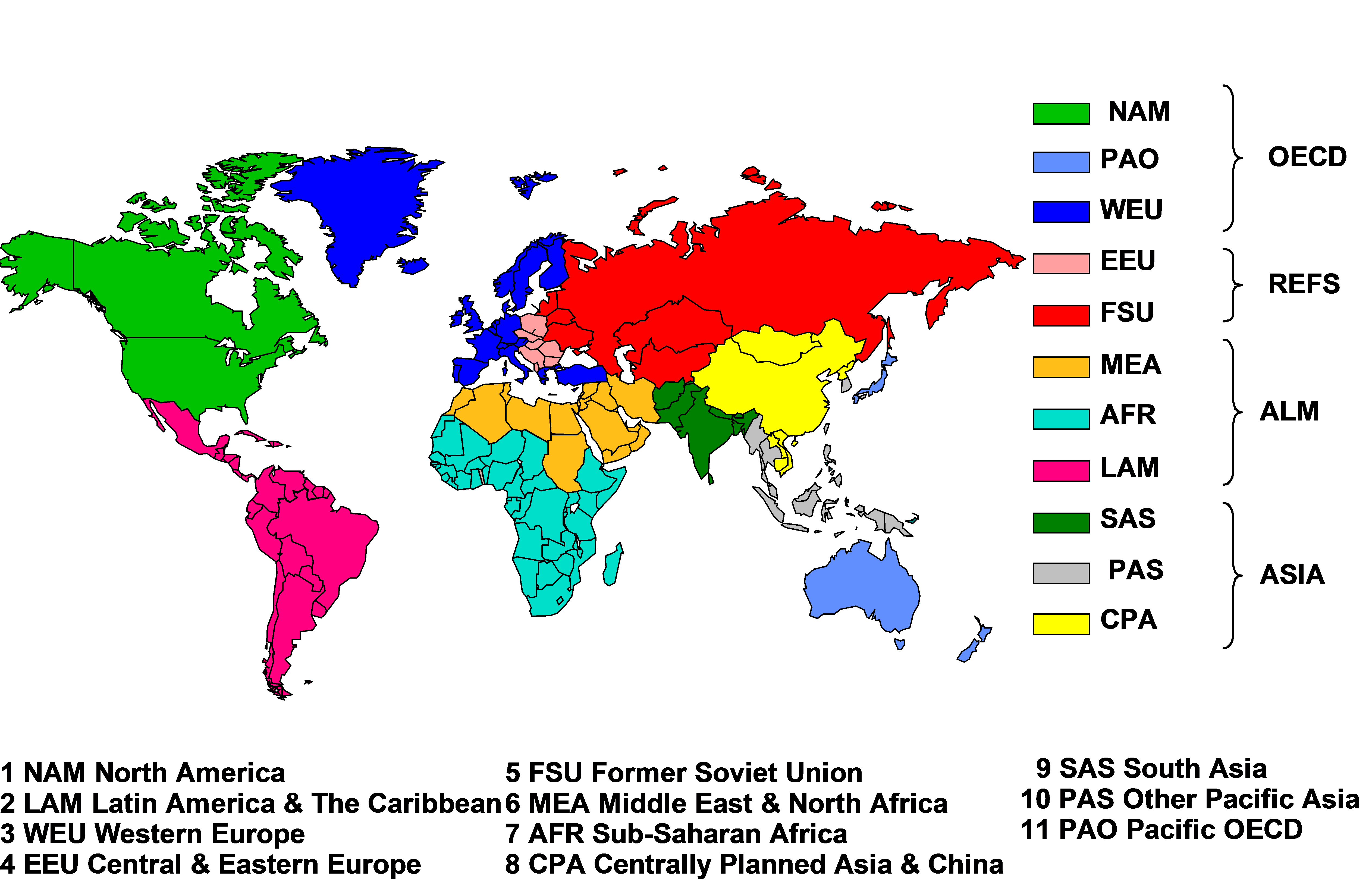 geographical regions of the world pdf