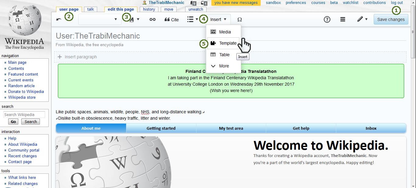 Finland Centenary Wikipedia Translatathon - UCL E-Learning