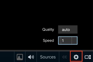 Location of playback Settings